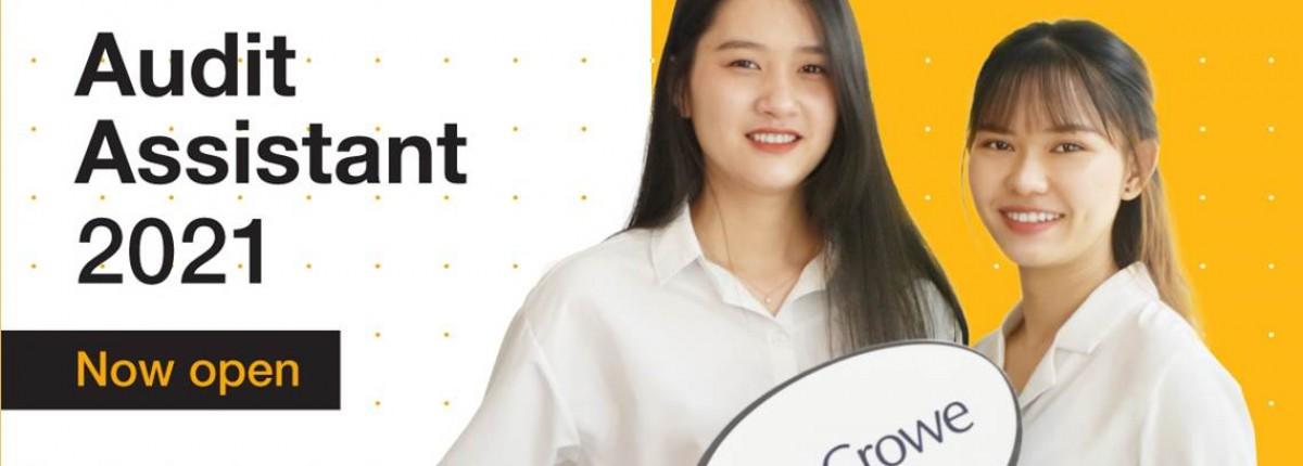 Trợ lý Kiểm toán 2021 - Tuyển dụng sinh viên mới tốt nghiệp